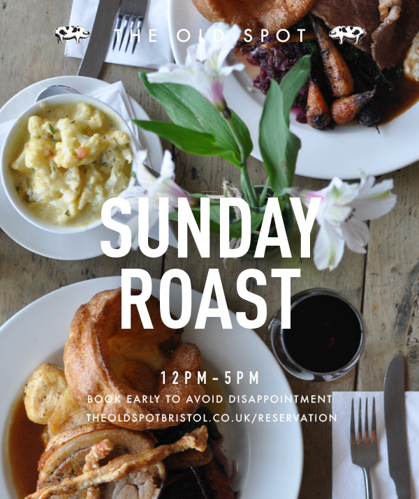 GOS Sunday roast poster - What's On